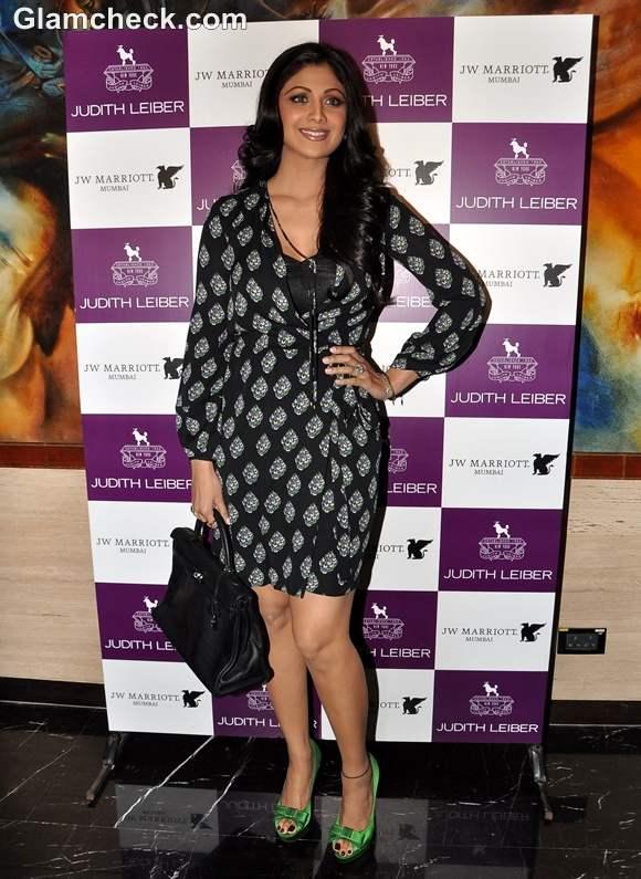 Shilpa Shetty at Judith Leiber event  Arola
