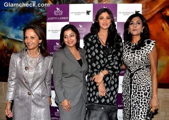 Shilpa Shetty at Judith Leiber event at Arola in Mumbai