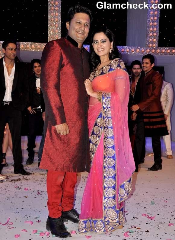 Smita Bansal with husband Ankush Mohla Nach Baliye Season 5 Contestant