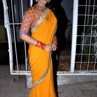 Sonakshi Sinha on the sets of TV Serial Diya Aur Baati Hum to promote Dabangg 2