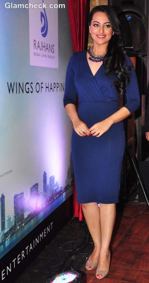 Sonakshi Sinha the New Brand Ambassador for Rajhans Group
