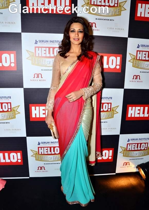 Sonali Bendre at Hello Hall of Fame Awards 2012