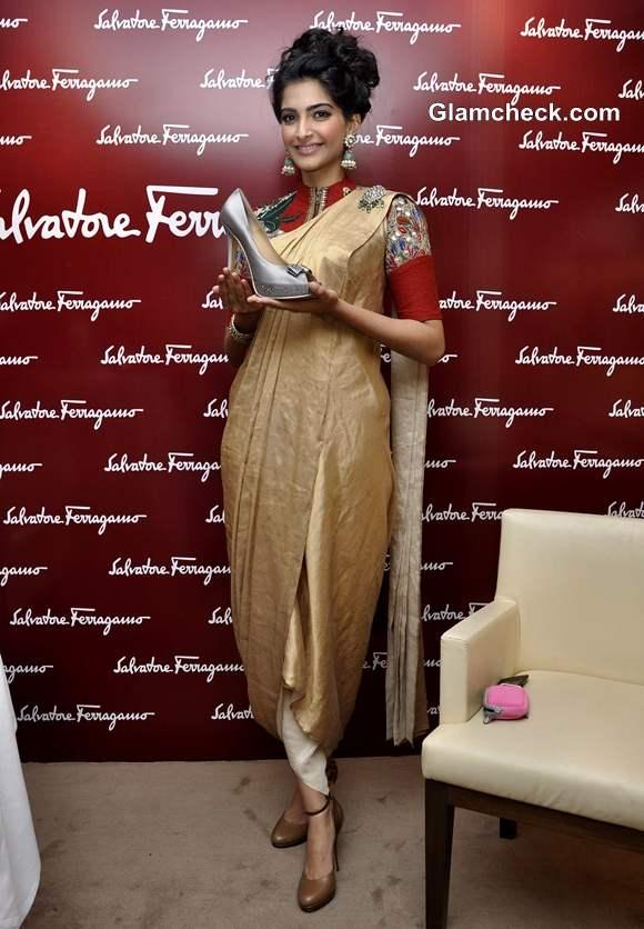 Sonam Kapoor  Salvatores Ferragamo Shoe for Star Event