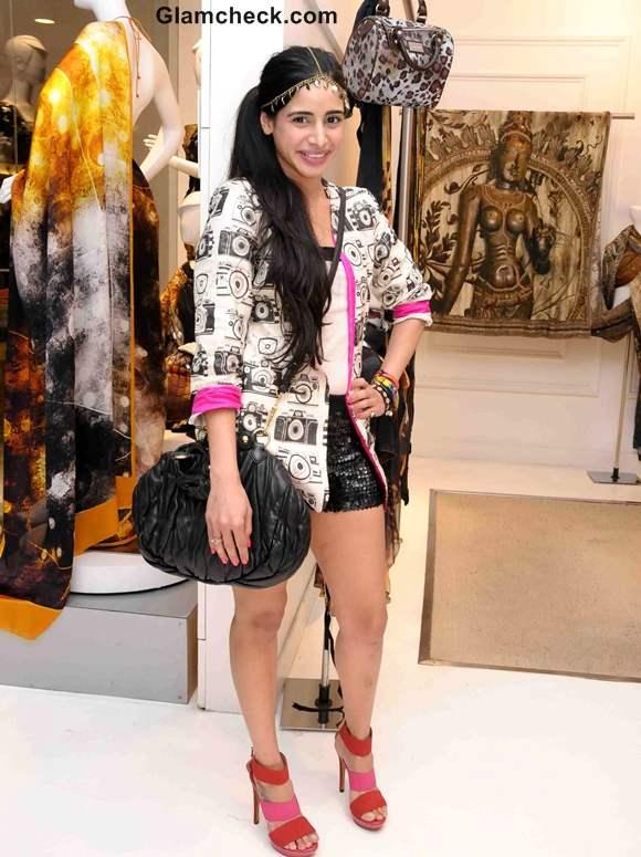 Soniya Mehra at Masaba as Satya Paul director announcement in Mumbai
