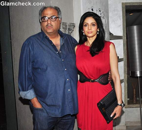 Sridevi At The Unveiling Of People Magazine Issue
