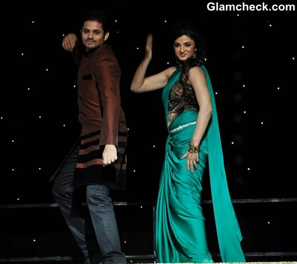 Suhasi Dhami with husband Jaysheel Dhami Nach Baliye Season 5 Contestant