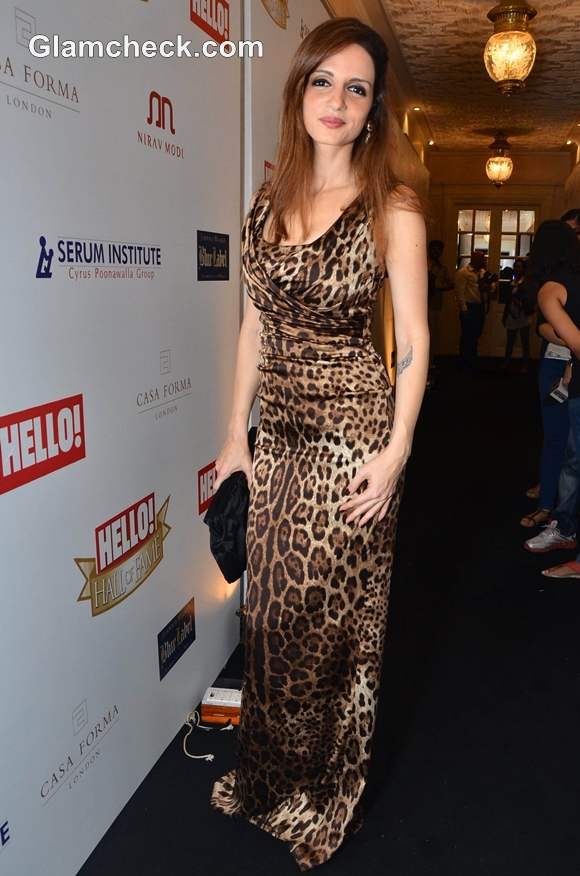 Suzanne Khan at Hello Hall of Fame Awards 2012