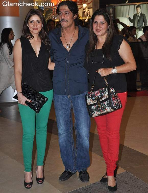 Talaash Premiere Chunky Pandey with wife Bhavna
