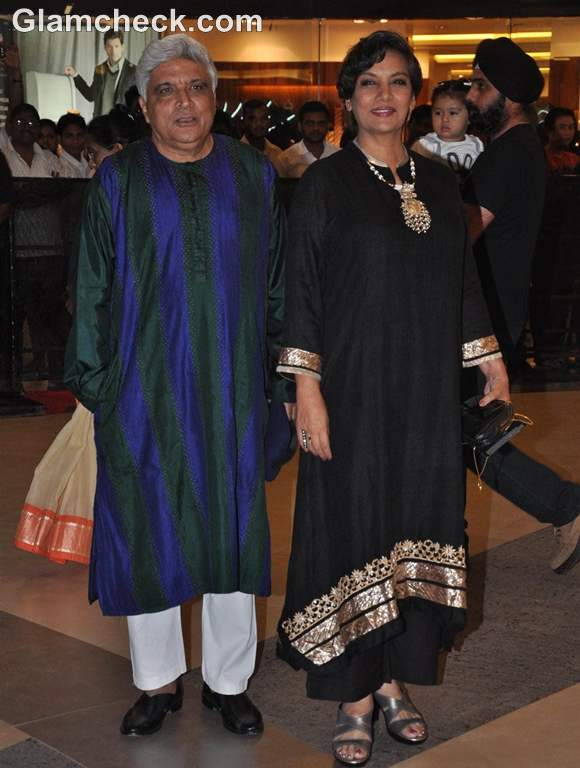 Talaash Premiere Javed Akhtar Shabana Azmi