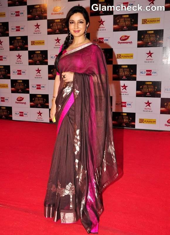 Tisca Chopra BIG Star Entertainment Awards 2012