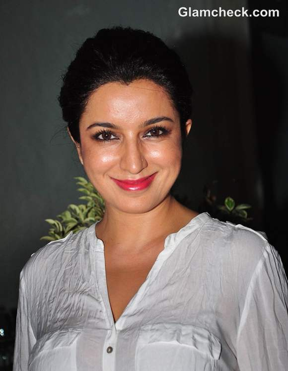 Tisca Chopra at Sanjay Chopras Book Talespin launch