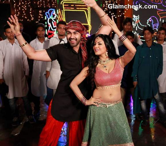 Veena Malik Shoots Item Song for Punjabi movie Jatts in Golmaal
