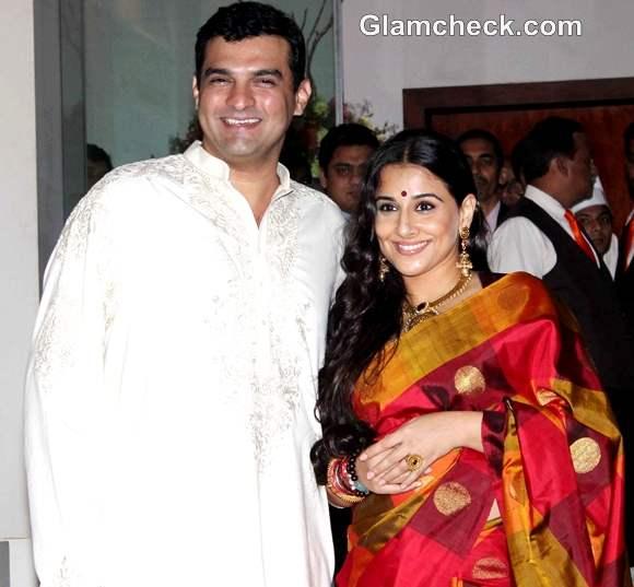 Vidya Balan Siddharth Roy Kapoor Pre Wedding Bash Mumbai