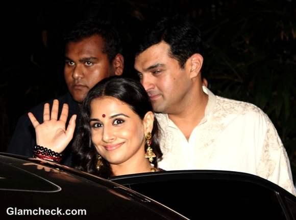 Vidya Balan Siddharth Roy Kapoor Pre- Wedding Bash