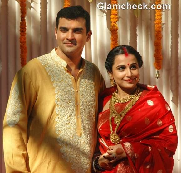 Vidya Balan Sidharth Roy Kapoor married pictures