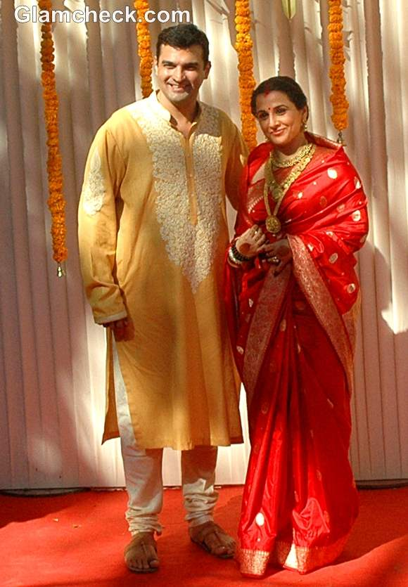 Vidya Balan Sidharth Roy Kapoor wedding pictures