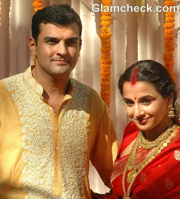 Vidya Balan Sidharth Roy married