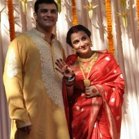 Vidya Balan and Siddharth Roy Kapoor wedding
