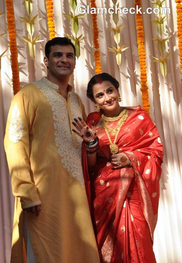 Vidya Balan And Siddharth Roy Kapoor Wedding Pictures And Details
