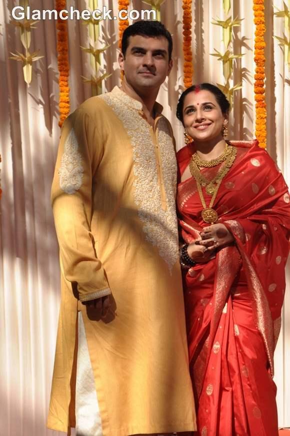 Vidya Balan and Siddharth got  married