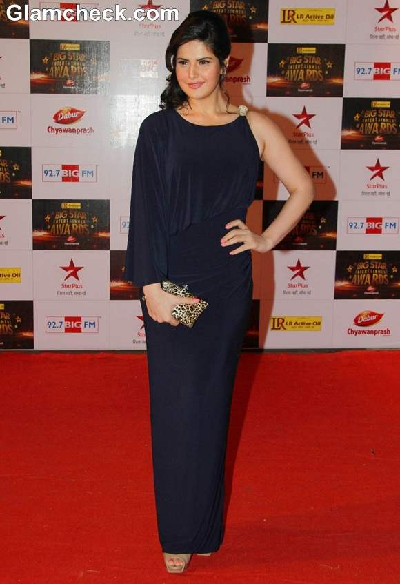 Zarine Khan Big Star Entertainment Awards 2012