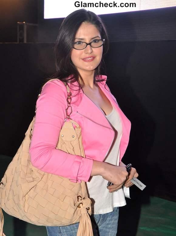 Zarine Khan at Gun N Roses concert Bandra Mumbai