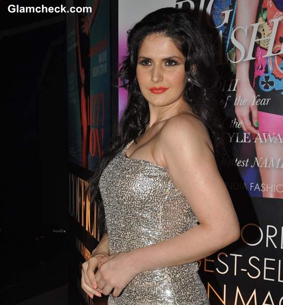 Zarine khan at Grey Goose Style Du Jour Spirit of Style party