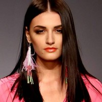 colorful boho feather earrings s-s-2013 Style Pick India fashion