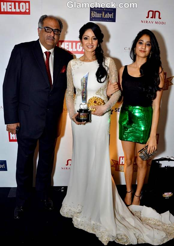 sridevi honored at Hello Hall Of Fame Awards