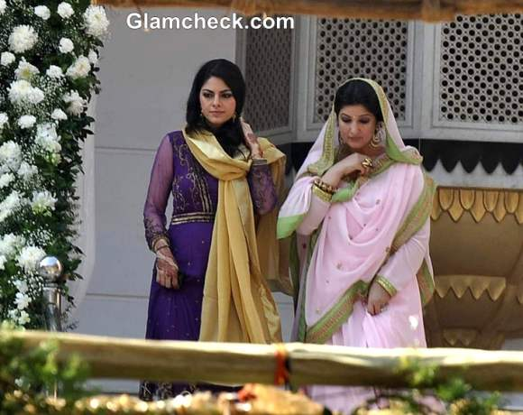 twinkle khanna at Alka Bhatia Surendra Hiranandani wedding