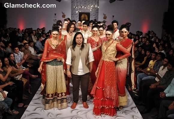 Abhishek Dutta collection Bangalore Fashion Week Summer Showers 2013