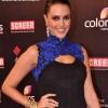 Actress Neha Dhupia At The 19th Annual Colors Screen Awards