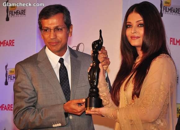Aishwarya Rai At The 58th Idea Filmfare Awards Press Conference