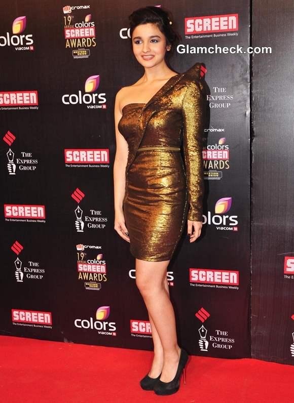 Alia Bhatt 2013 Colors Screen Awards