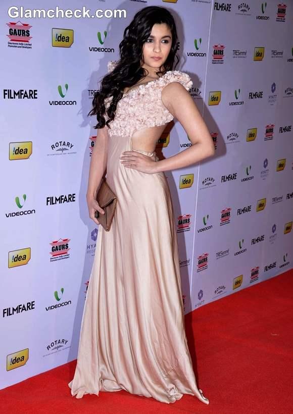 Alia Bhatt 2013 FilmFare Awards Nominations