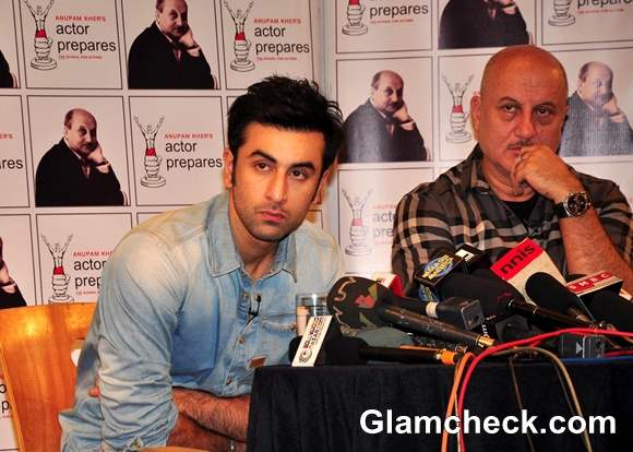 Anupam Kher Interviews Ranbir Kapoor for Actor Prepares