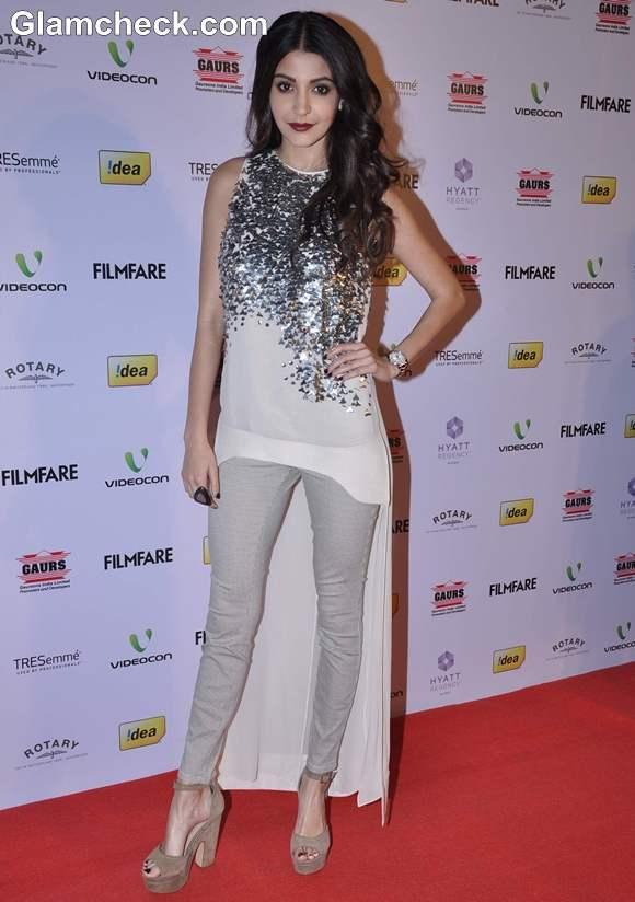 Anushka Sharma At 58th Filmfare Award Nominations