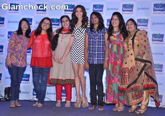 Anushka Sharma At Parachute Advanced Promotional Event