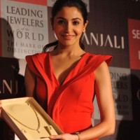 Anushka Sharma At The Collection Launch of Gitanjali Season Of Love At Trident BKC Mumbai