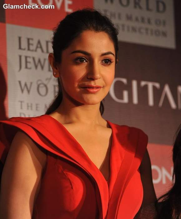 Anushka Sharma Gitanjali Season Of Love jewelry launch