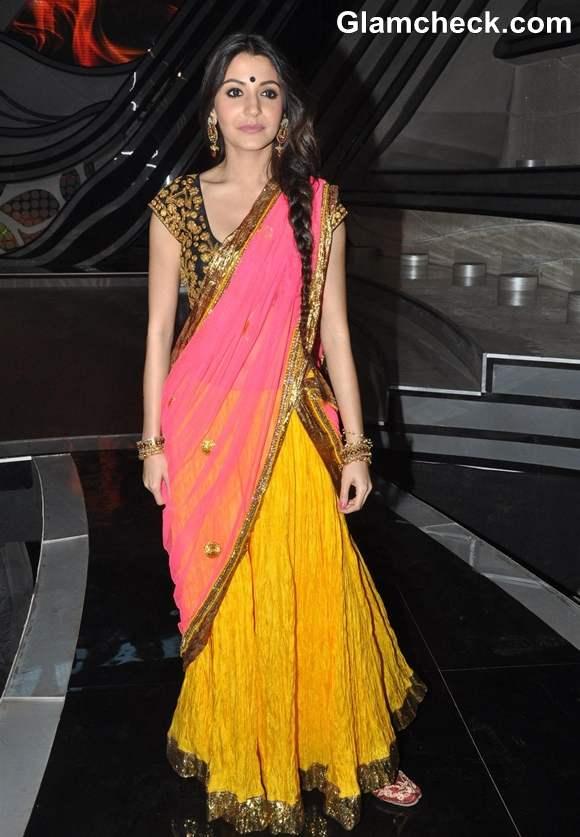 Anushka Sharma Nach Baliye sets