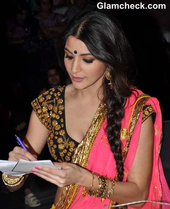 Anushka Sharma hairstyle Nach Baliye