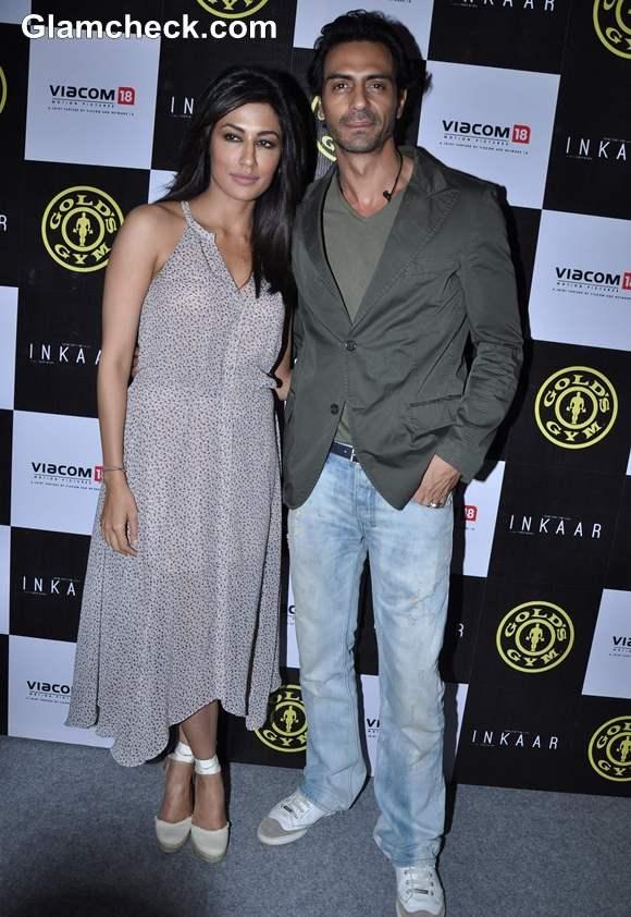 Arjun Rampal chitrangada singh Golds Gym Tie-up with Film Inkaar