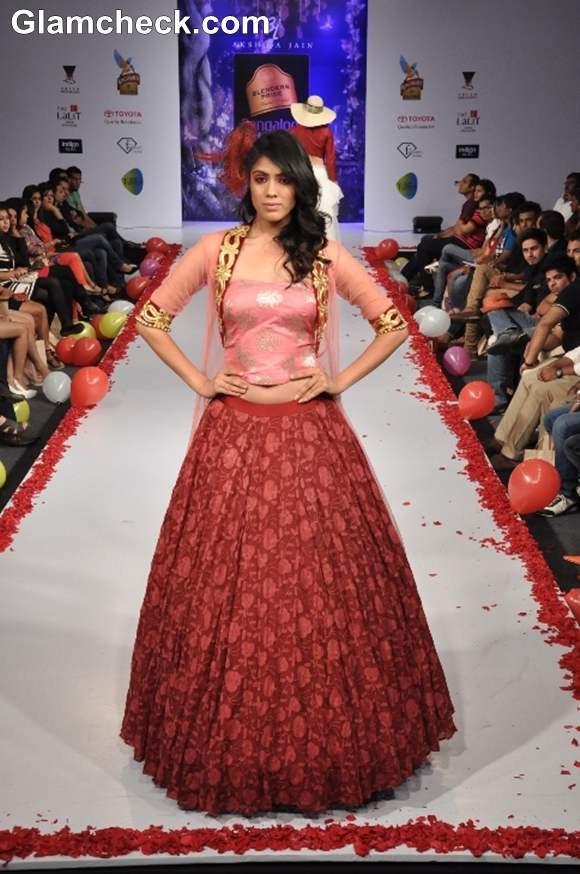 Bangalore Fashion Week Summer Showers 2013 Akshita Jain collection