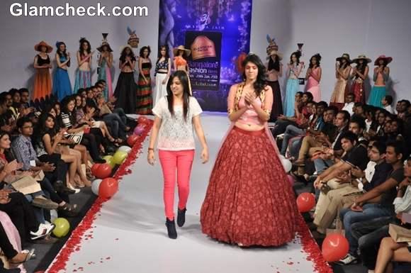 Bangalore Fashion Week Summer Showers 2013 Akshita Jain show