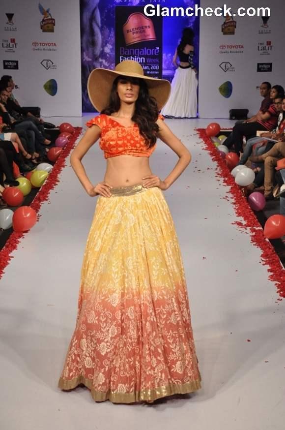 Bangalore Fashion Week Summer Showers 2013 Akshita Jain