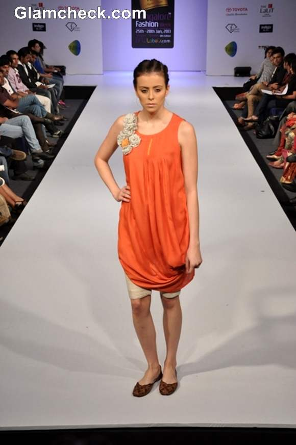 Bangalore Fashion Week Summer Showers 2013 Anjali Rai designer