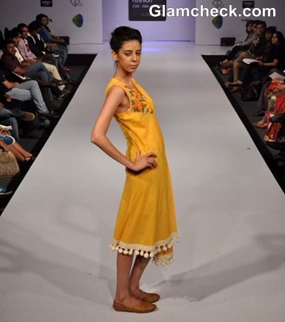 Bangalore Fashion Week Summer Showers 2013 Anjali Rai show collection