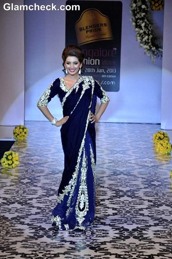 Bangalore Fashion Week Summer Showers 2013 Archana Kochhar bridal sutra