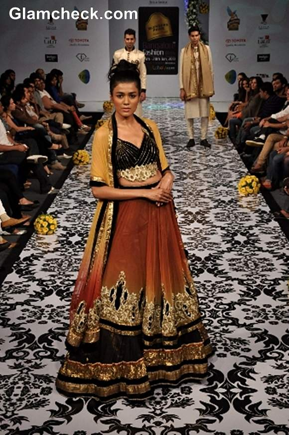 Bangalore Fashion Week Summer Showers 2013 Archana Kochhar collection